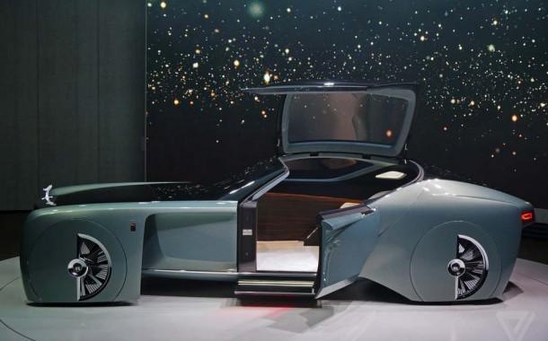 رولز رویس از طرح مفهومی یک ماشین خودران رونمایی کرد