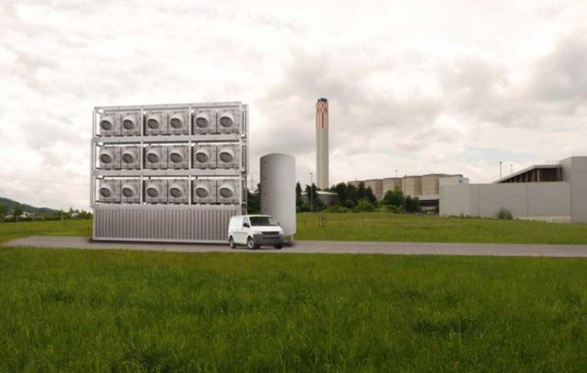 اولین کارخانهی جذب کربن دی اکسید از هوا افتتاح میشود