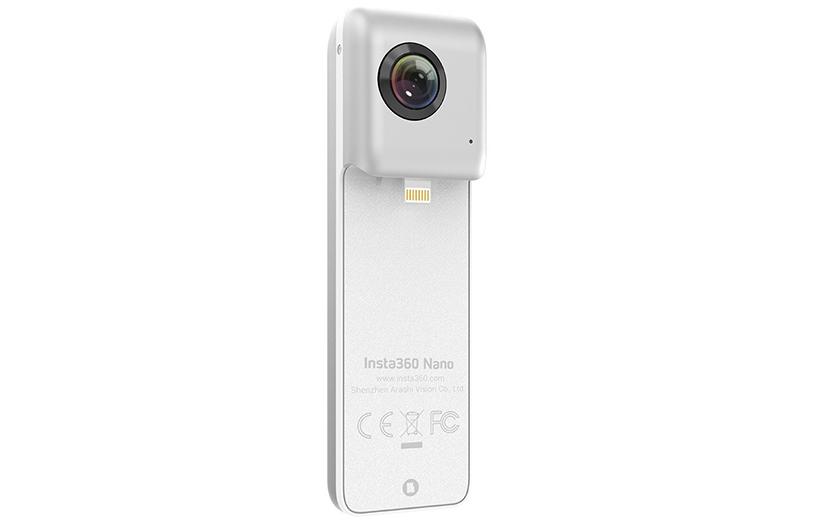 Insta360 Nano؛ دوربین ۳۶۰ درجه برای آیفون