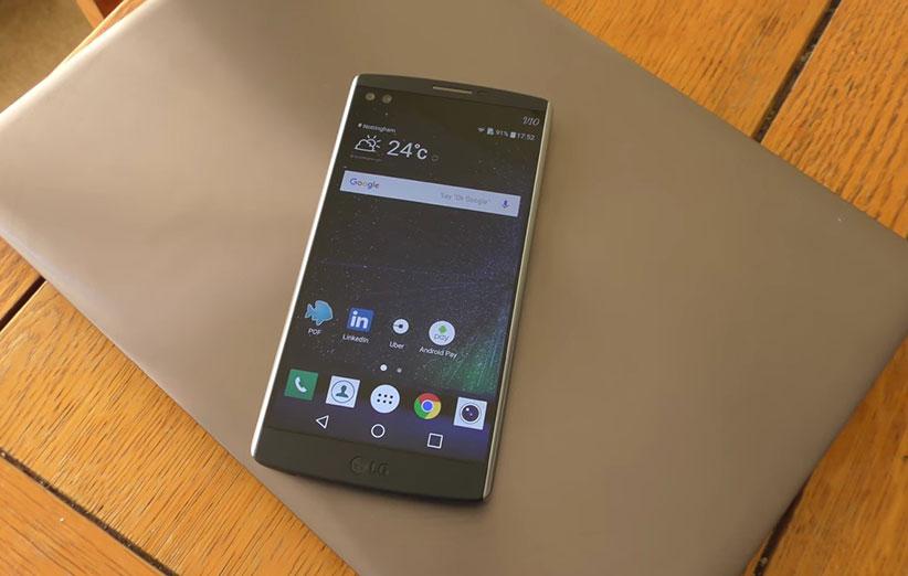 آخرین اطلاعات درباره گوشی جدید الجی V20