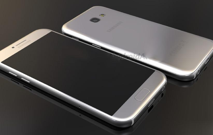 Galaxy A5 جدید شبیه به Galaxy S7 است