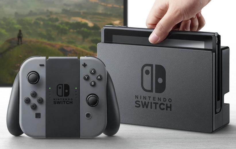 نینتندو از کنسول بازی Switch رونمایی کرد