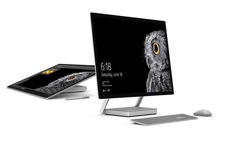 مایکروسافت کامپیوتر همه فن حریف Surface Studio را معرفی کرد
