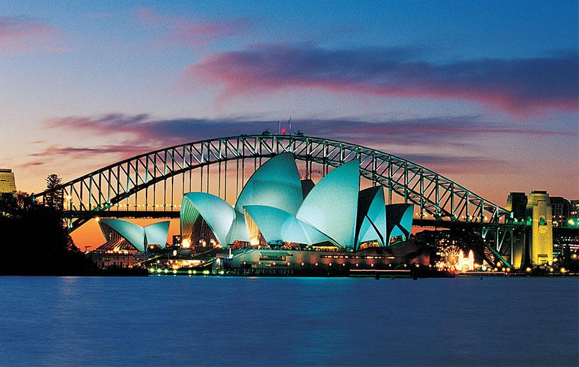 6 – استرالیا: این کشور از نظر سرمایه اجتماعی بسیار مهم است.