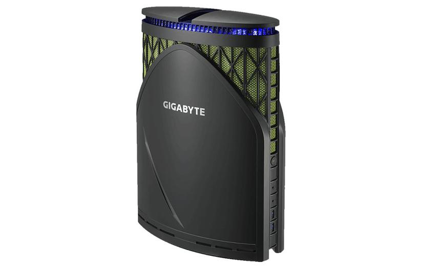 کامپیوتر زیبا و کوچک گیگابایت یک GTX 1080 در خودش دارد