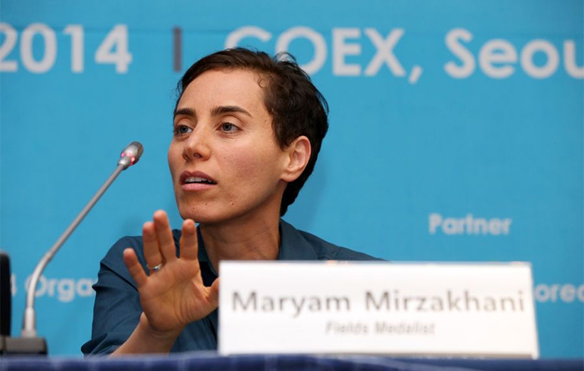 مجله خبری ایشومر Mirzakhani6 مریم میرزاخانی اولین زنی بود که جایزهی فیلدز را از آن خود کرد. داستان موفقیت موفقیت  میرزاخانی مریم فیلدز زن ریاضی جایزهی اولین المپیاد استعداد Ruth Lyttle Satter Peter Scholze CMI