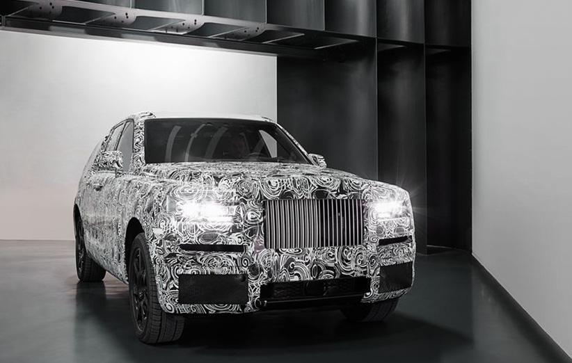 SUV جدید رولز-رویس را ببینید