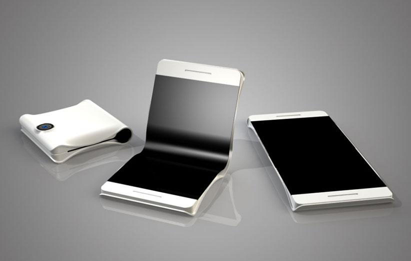 الجی گوشی جدید با صفحه نمایش قابل انعطاف میسازد
