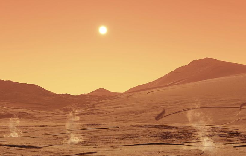 کشف میکروبهایی که روی مریخ زنده میمانند