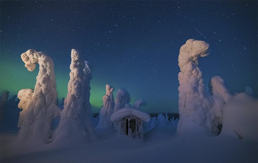 نگهبانان آسمان شمالی: تصویر نجومی روز ناسا (۲۱ دی ۹۵)