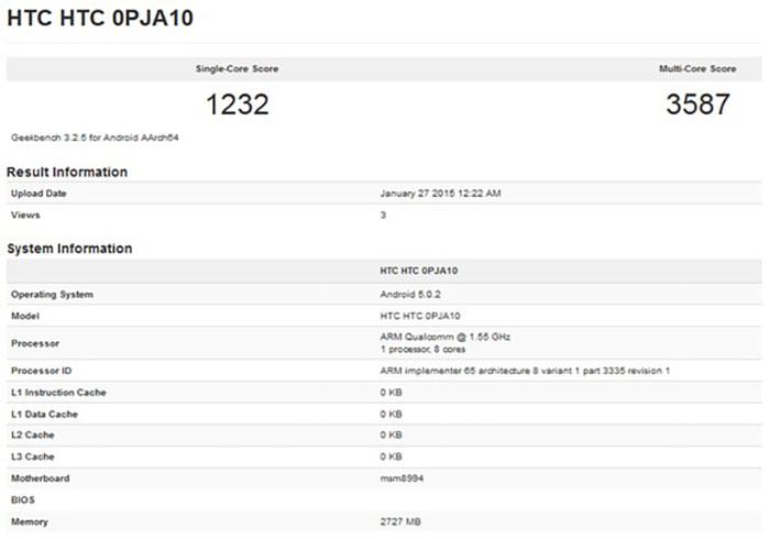 HTC-One-M9-goes-through-Geekbench..