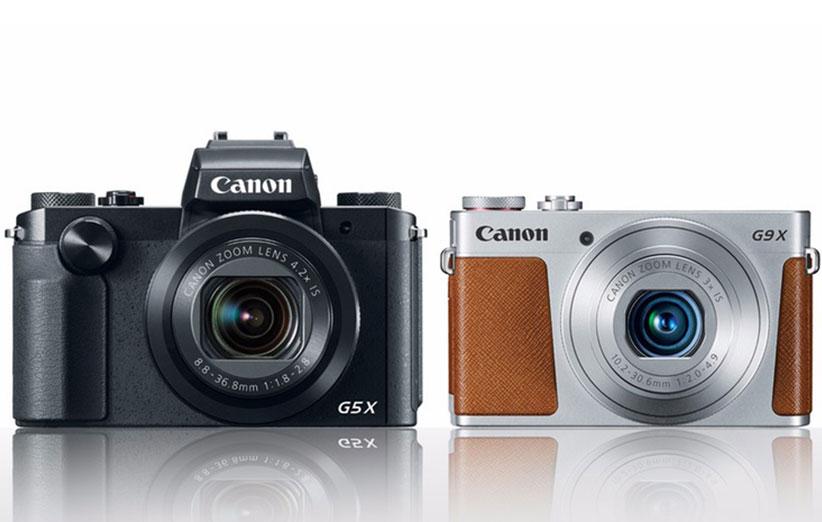 دوربین کانن G5X و G9X