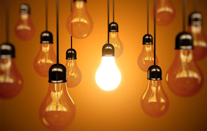 لامپ به شکلی ساخته شده که میتواند به هنگام برقراری الکتریسیته، نور مرئی تابش کند