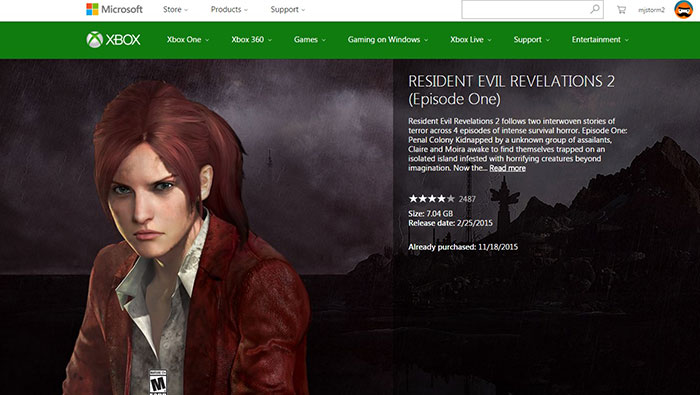 دانلود بازی Resident Evil: Revelations 2 برای Xbox One