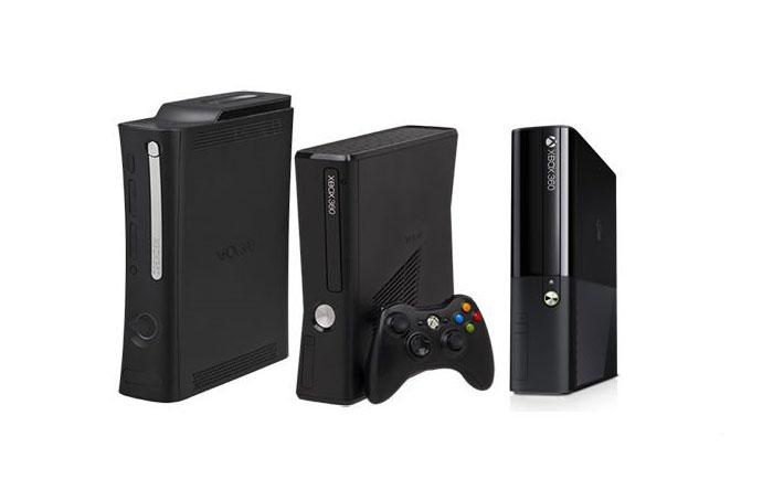 سه مدل مختلف از کنسول ایکسباکس 360