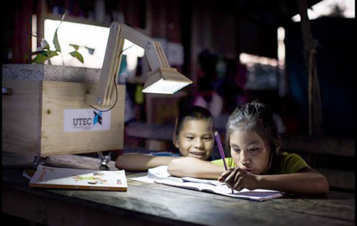 plant lamp peru UTEC