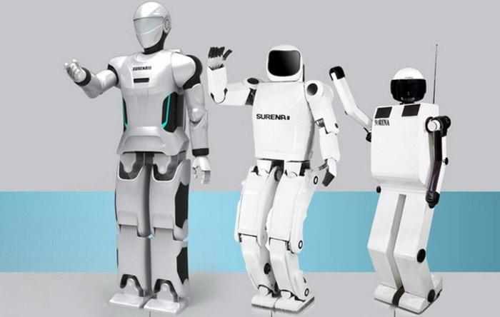 روباتهای سورنای 1، 2 و 3