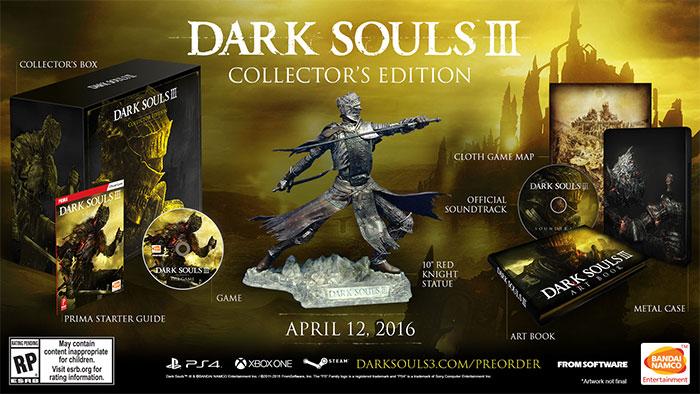 نسخه کلکسیونی بازی ارواح تاریک 3 در آمریکا