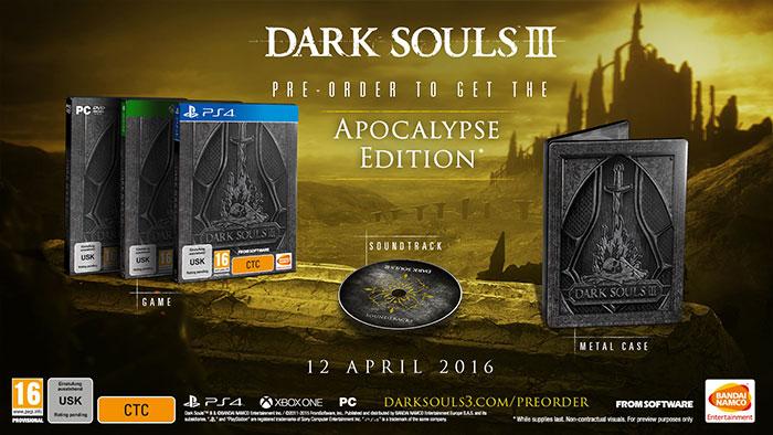بازی ارواح تاریک 3 در اروپا