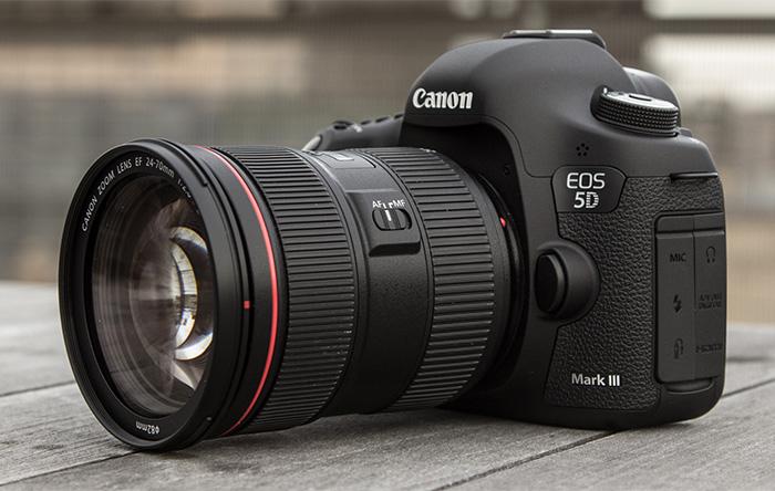 راهنمای خرید دوربینهای DSLR مناسب فیلمبرداری (پاییز ۹۴)دوربین دیجیتال کانن ای او اس 5 دی مارک 3 بدنه