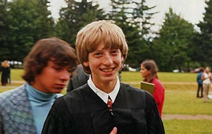 بیل گیتس در مدرسه