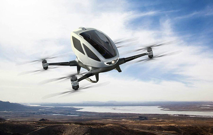 EHang Octocopter