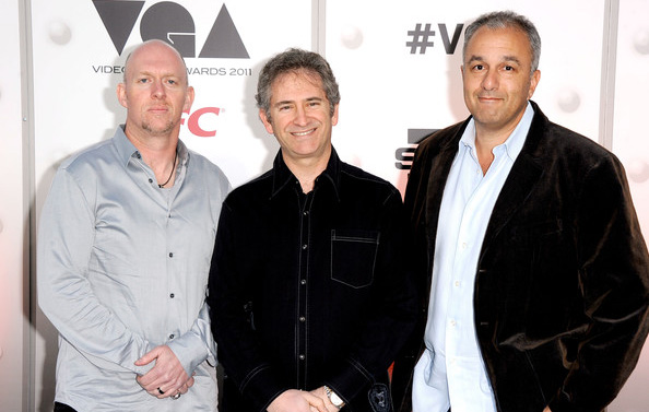 Above-Blizzard-founders-(left-to-right)-Frank-Pearce,-Mike-Morhaime,-and-Allen-Adham