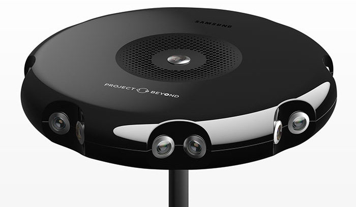 دوربین واقعیت مجازی ۳۶۰ درجه