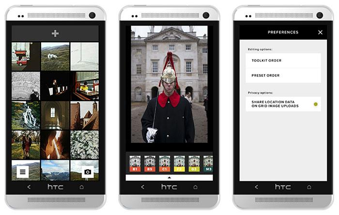 اپلیکیشن عکاسی VSCO Cam