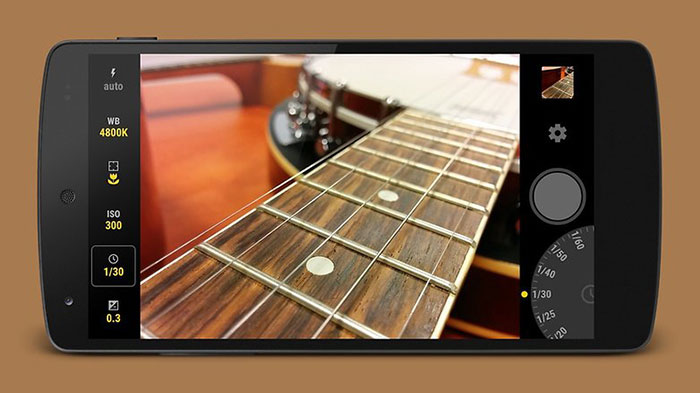 اپلیکیشن عکاسی Manual Camera