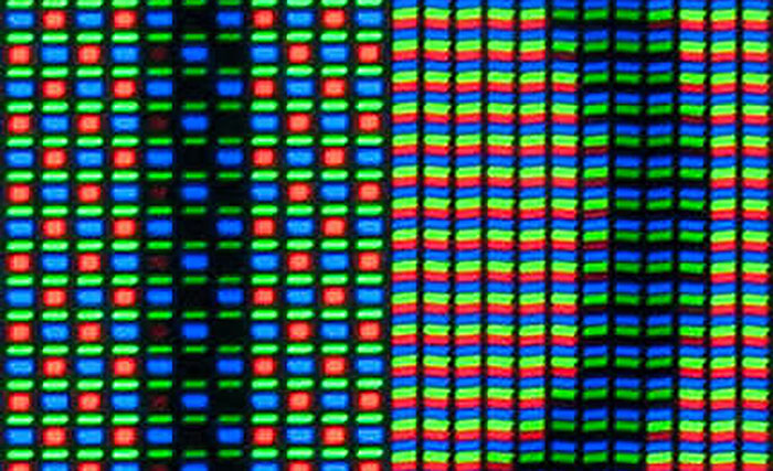 صفحه نمایش - subpixel