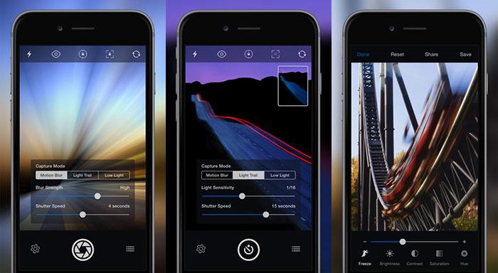 اپلیکیشن عکاسی Slow Shutter Cam
