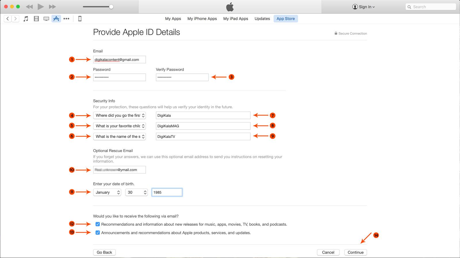 Apple ID 07 خرید اپل آیدی,خرید اپل آیدی ارزان,خرید اپل آیدی آماده