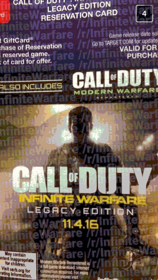 تصویر تبلیغاتی بازی Call of Duty: Infinite Warfare