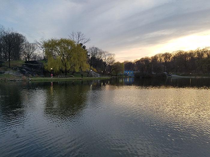 عکاسی غروب خورشید - Galaxy S7 02 HDR