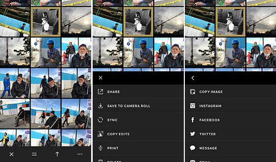 اپلیکیشن VSCO - انتشار عکس - عکاسی موبایل ۰۲
