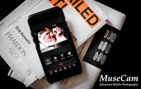 اپلیکیشن عکاسی آیفون MuseCam - اصلی
