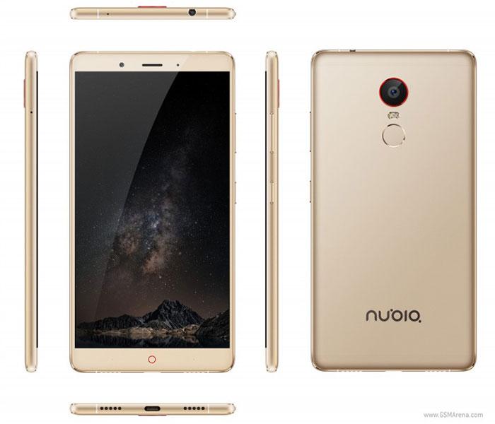 max رسما را معرفی z11 نوبیا گوشی zte کرد