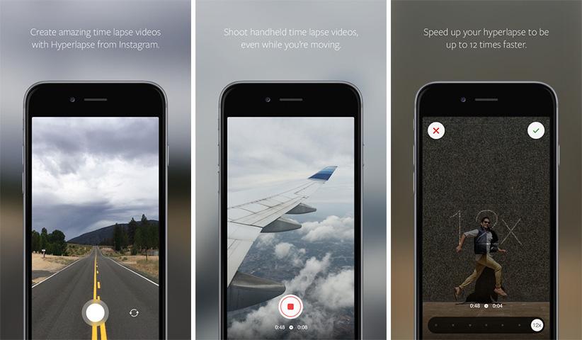 اپلیکیشن آیفون iOS - Hyperlapse