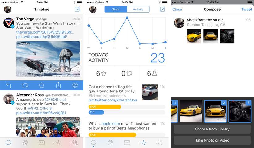 اپلیکیشن آیفون iOS - Tweetbot