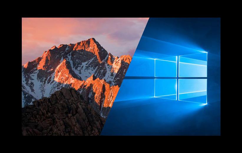 ویندوز ۱۰ در برابر macOS Sierra