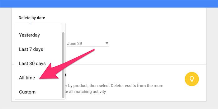 ۰۵ - حفظ حریم شخصی در گوگل