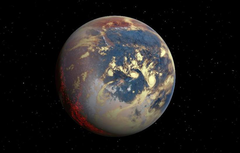 بیشتر سیارات فراخورشیدی کشف شده، اندازهای بین زمین و نپتون دارند و به آنها «ابرزمین» میگویند.