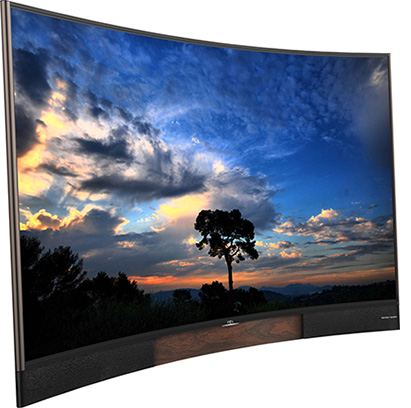 ۰۵ - تلویزیون TCL 55H8800