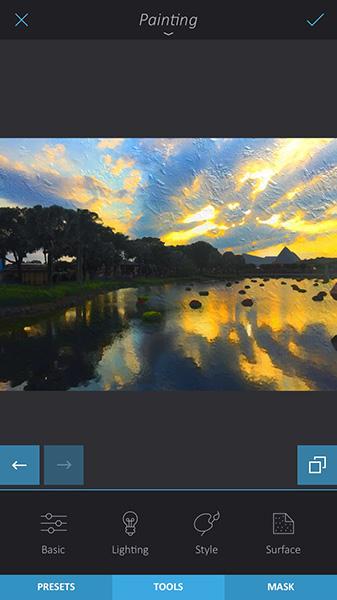 تبدیل عکس به نقاشی بدون Prisma - اپلیکیشن Enlight - 06