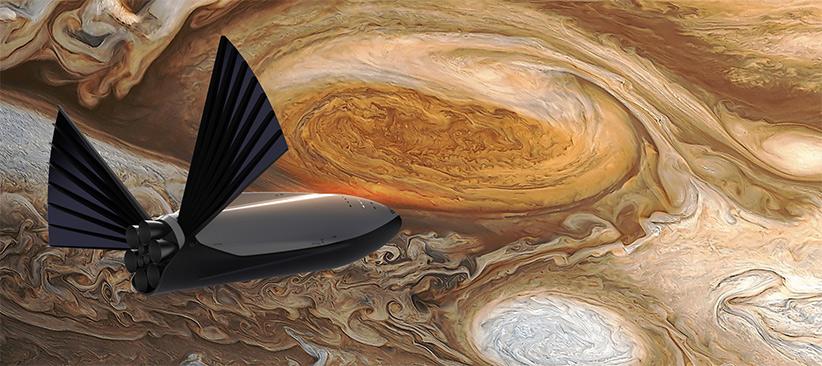 هدف نهایی، سفر انسان به کل منظومهی شمسی است.