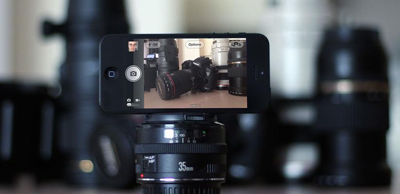 عکاسی موبایل یا DSLR