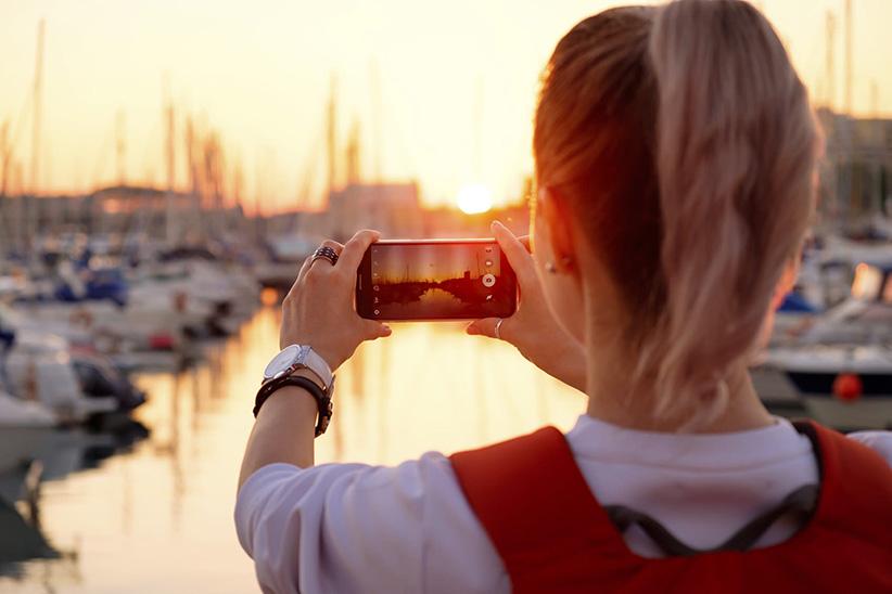 قوانین عکاسی موبایل