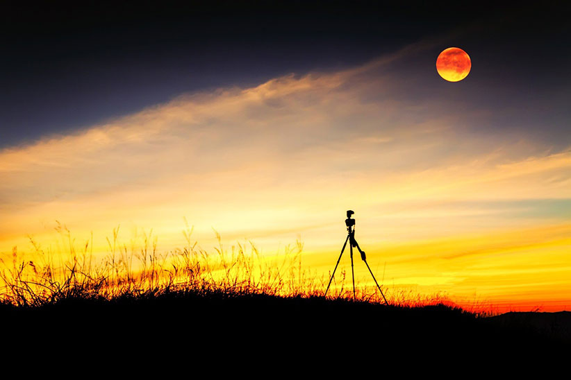 عکاسی از ماه