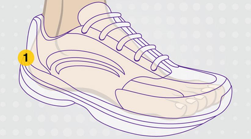 خرید کفش ورزشی پیاده روی
